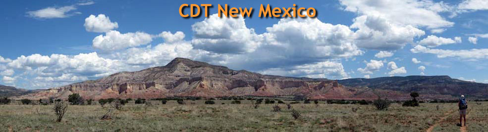 New Mexico near Ghost Ranch