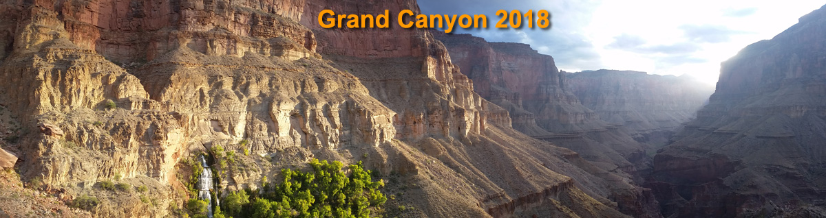 Thunder Springs and Tapeats Canyon in Grand Canyon NP